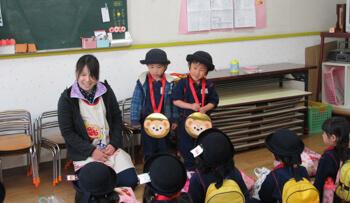 メダルの表彰式!