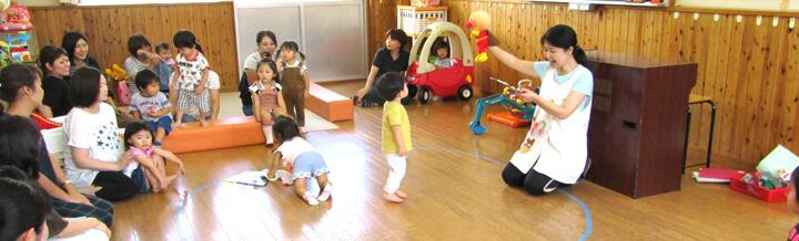 おひさまくらぶ(親子登園広場)・なかよしくらぶ(プレ幼稚園)・子育て相談