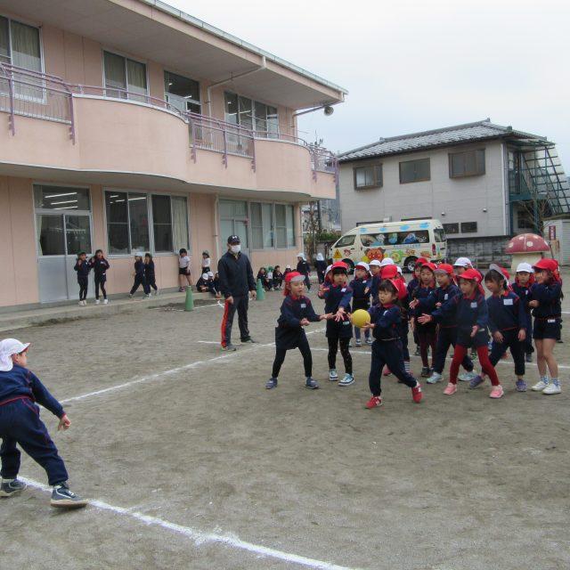 ドッヂボール大会☆年長組