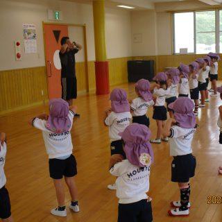 「体操・英語教室」始まり