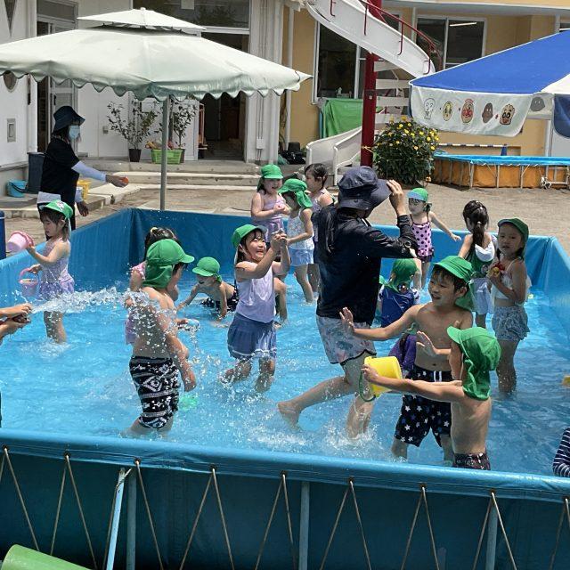 プール遊び🌟楽しい〜